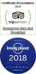 mossgrove tripadvisor award 2018 lonely planet